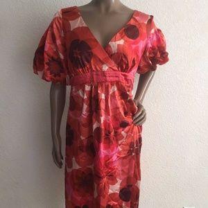 Women's 6 Jonathan Martin red pink dress